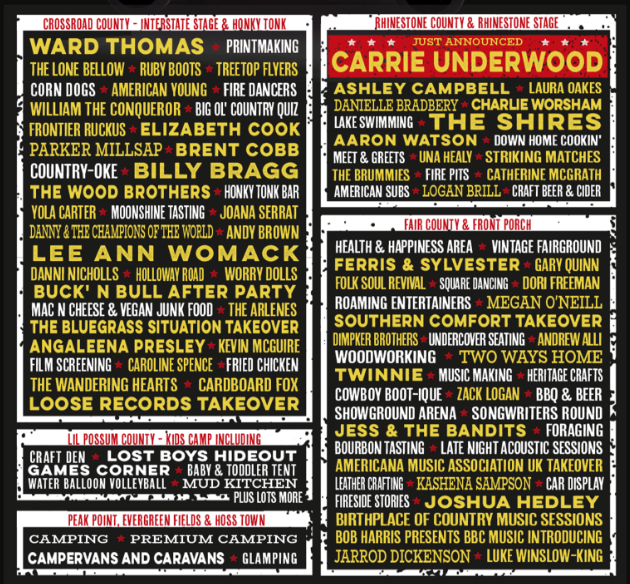 The Long Road Festival Line Up