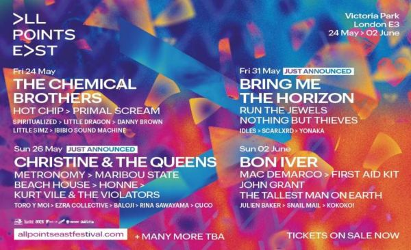 All Points East Festival 2019 Line Up