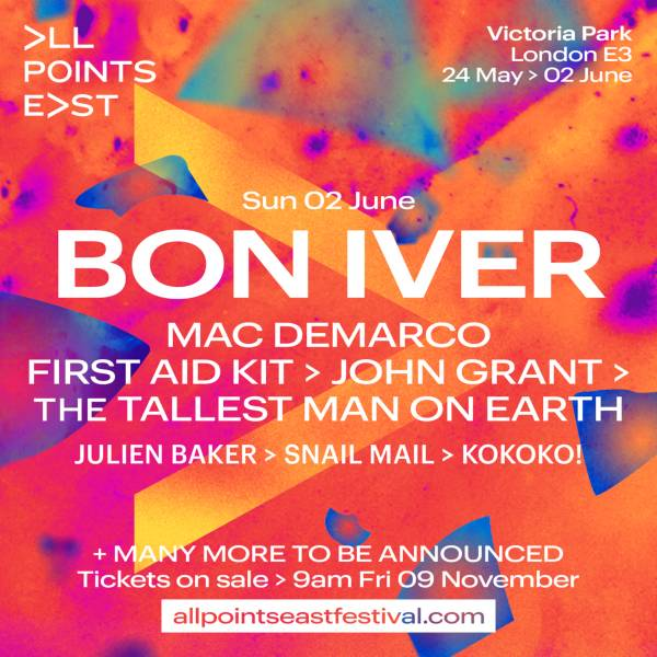 Bon Iver at All Points East