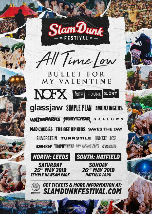 Slam Dunk Festival Line Up