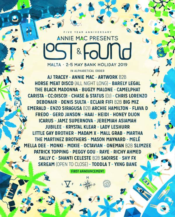 AMP Lost & Found Poster