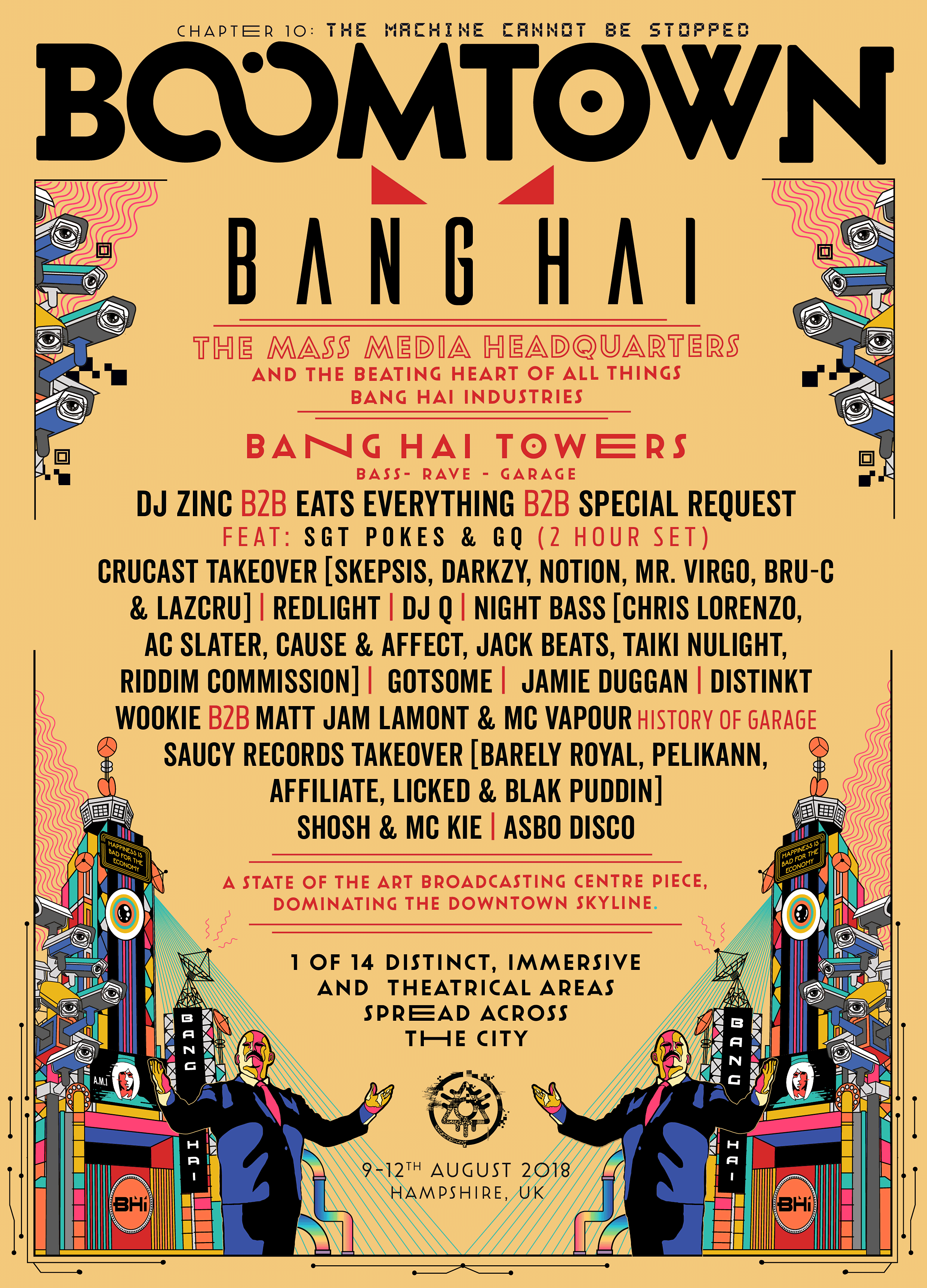 BoomTown - Nabg Hai line up