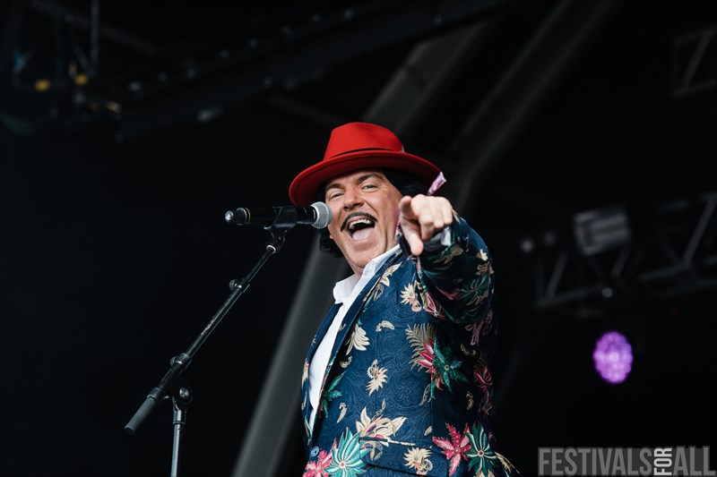 The Cuban Brothers at Standon Calling 2018