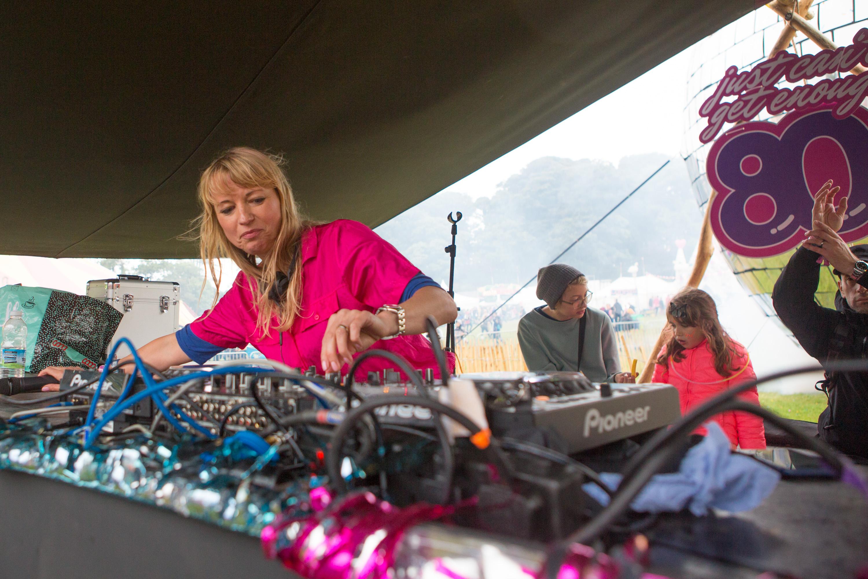 Sara Cox at Bestival 2017
