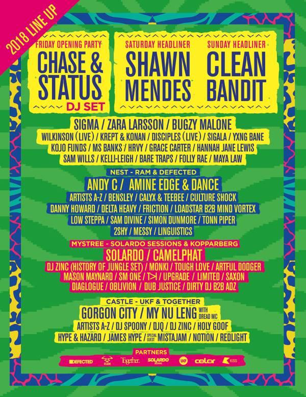 Sundown Festival 2018 Line Up