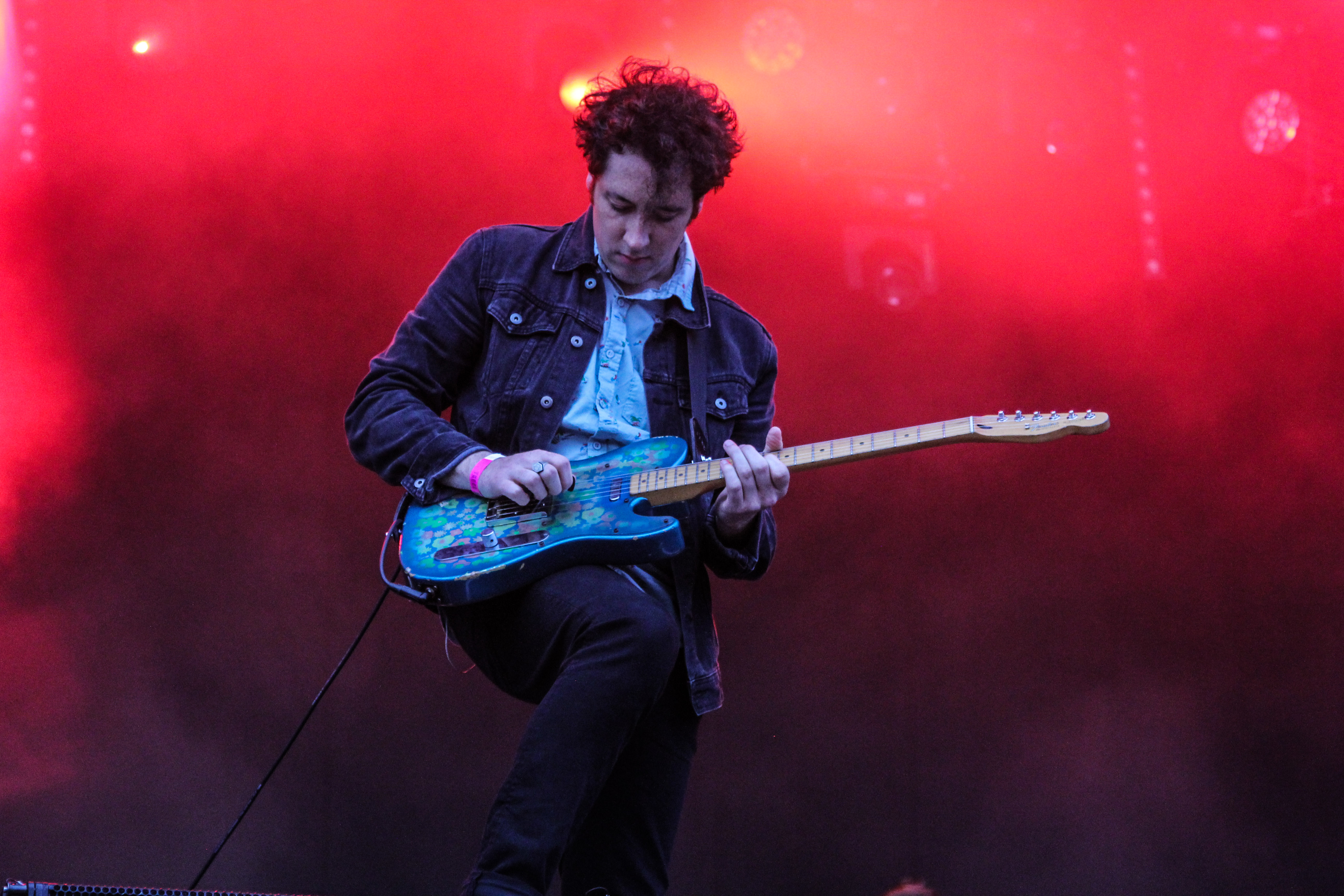The Wombats on the Main Stage at Truck Festival 2017