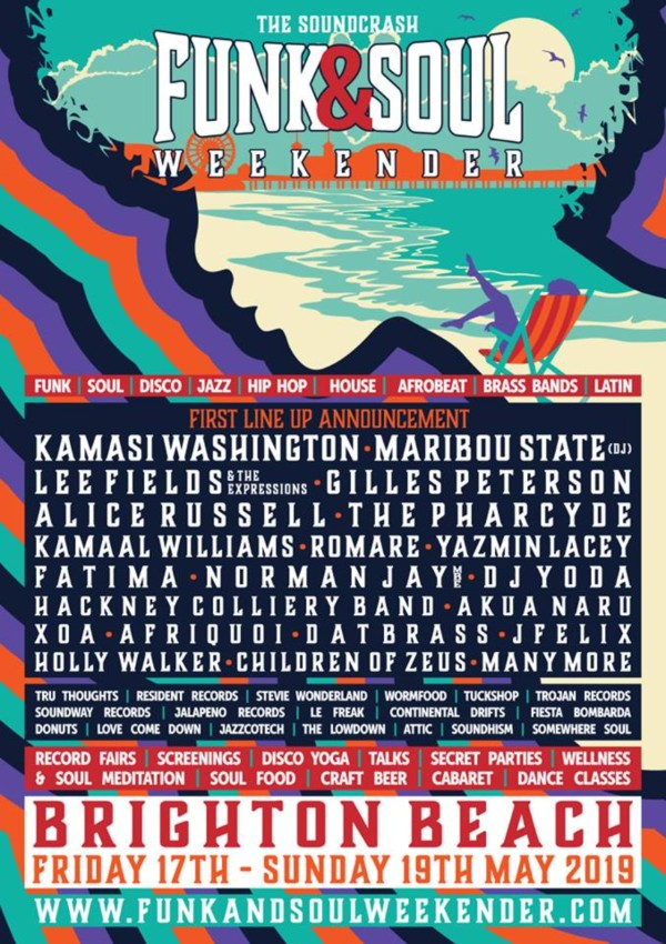 Funk and Soul Weekender 2019 Line Up
