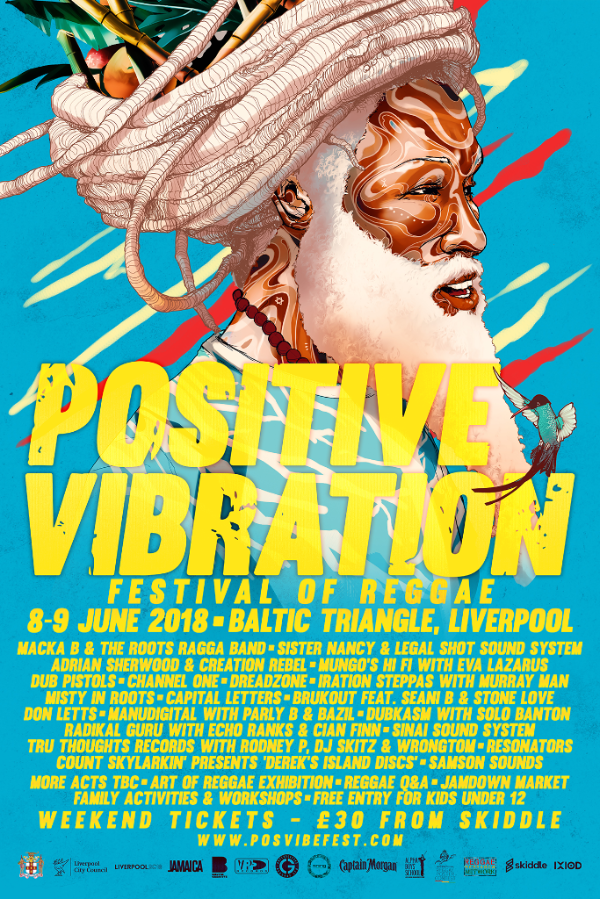Positive Vibrations 2018 line up
