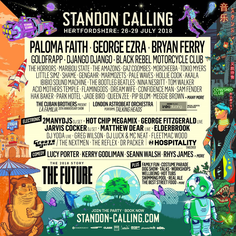 Standon Calling 2018 Line Up