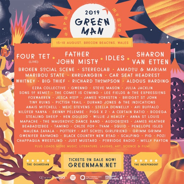 Green Man Festival 2019 Line Up