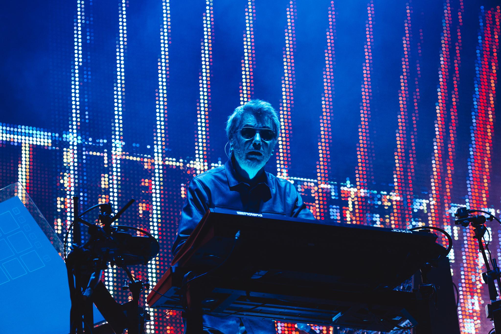 Jean Michel Jarre at bluedot Festival 2016