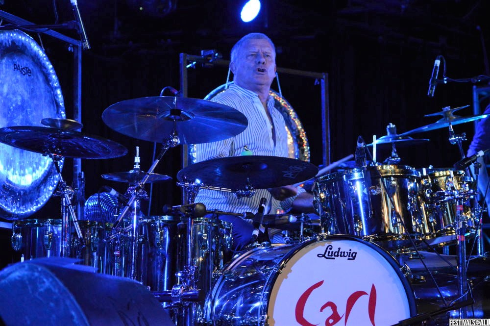 Carl Palmer at Giants of Rock