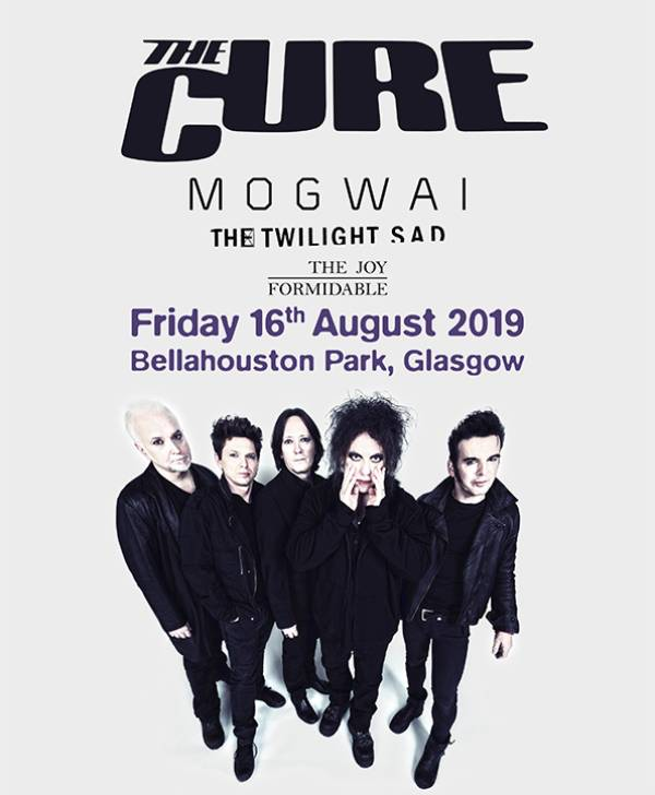 Glasow Summer Sessions 2019 Line Up Poster - The Cure