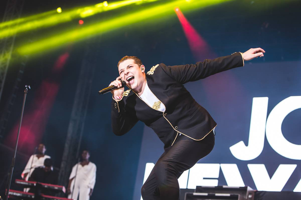 John Newman at Sundown Festival