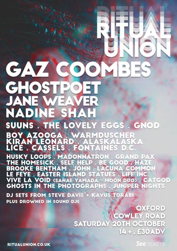 Riual Union Festival 2018 Line Up