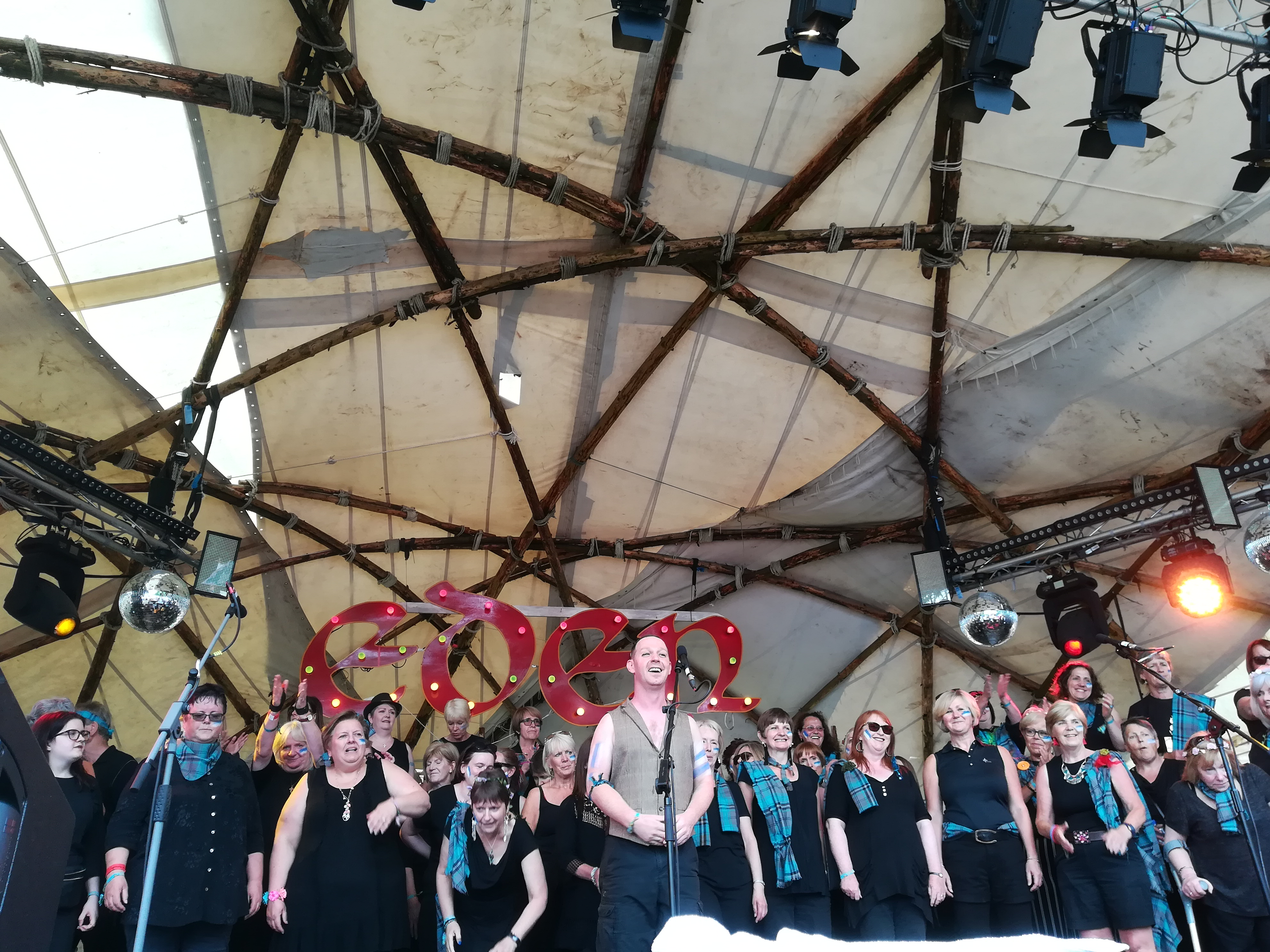 Dumfries Community Choir at Edem Festival