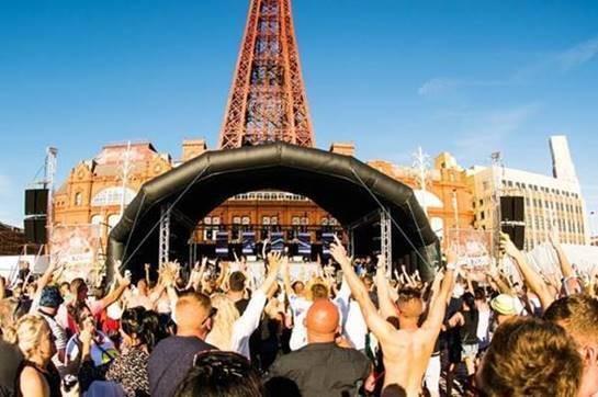 Blackpool Festival line up