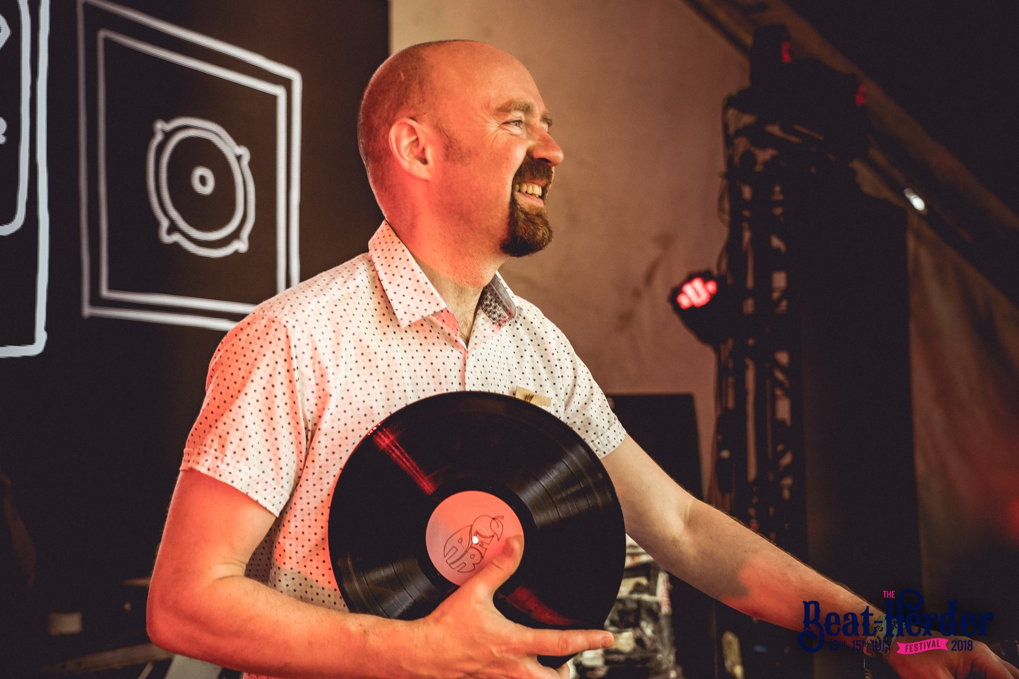 Mr Scruff at Beatherder Festival 2018
