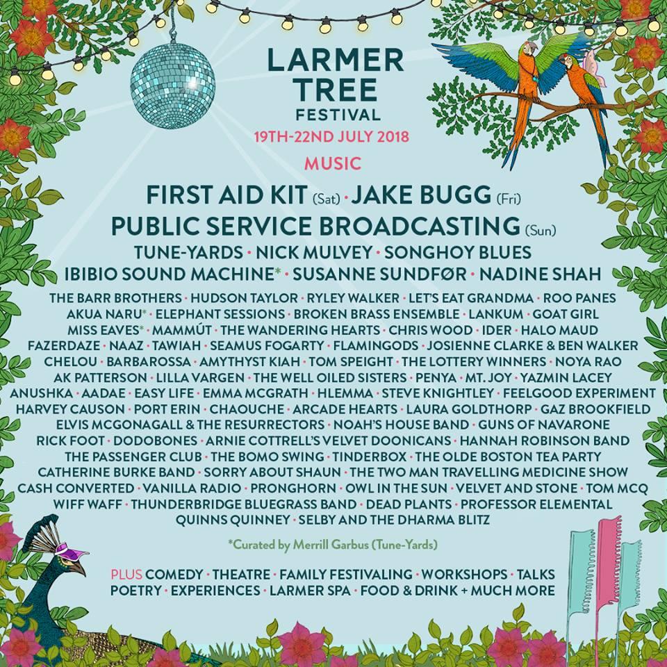Larmer Tree Festival 2018 Preview