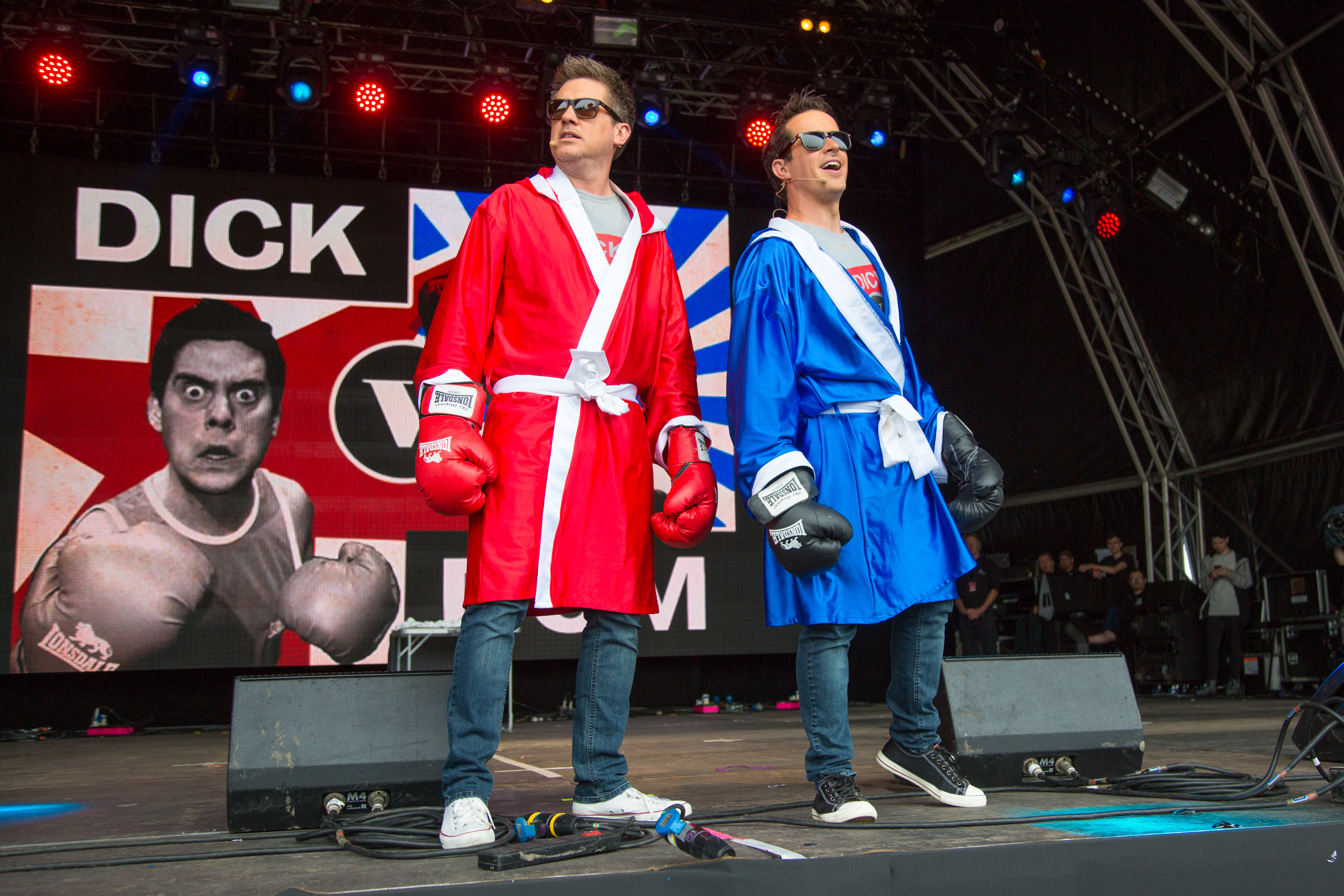 Dick & Dom at Camp Bestival 2017