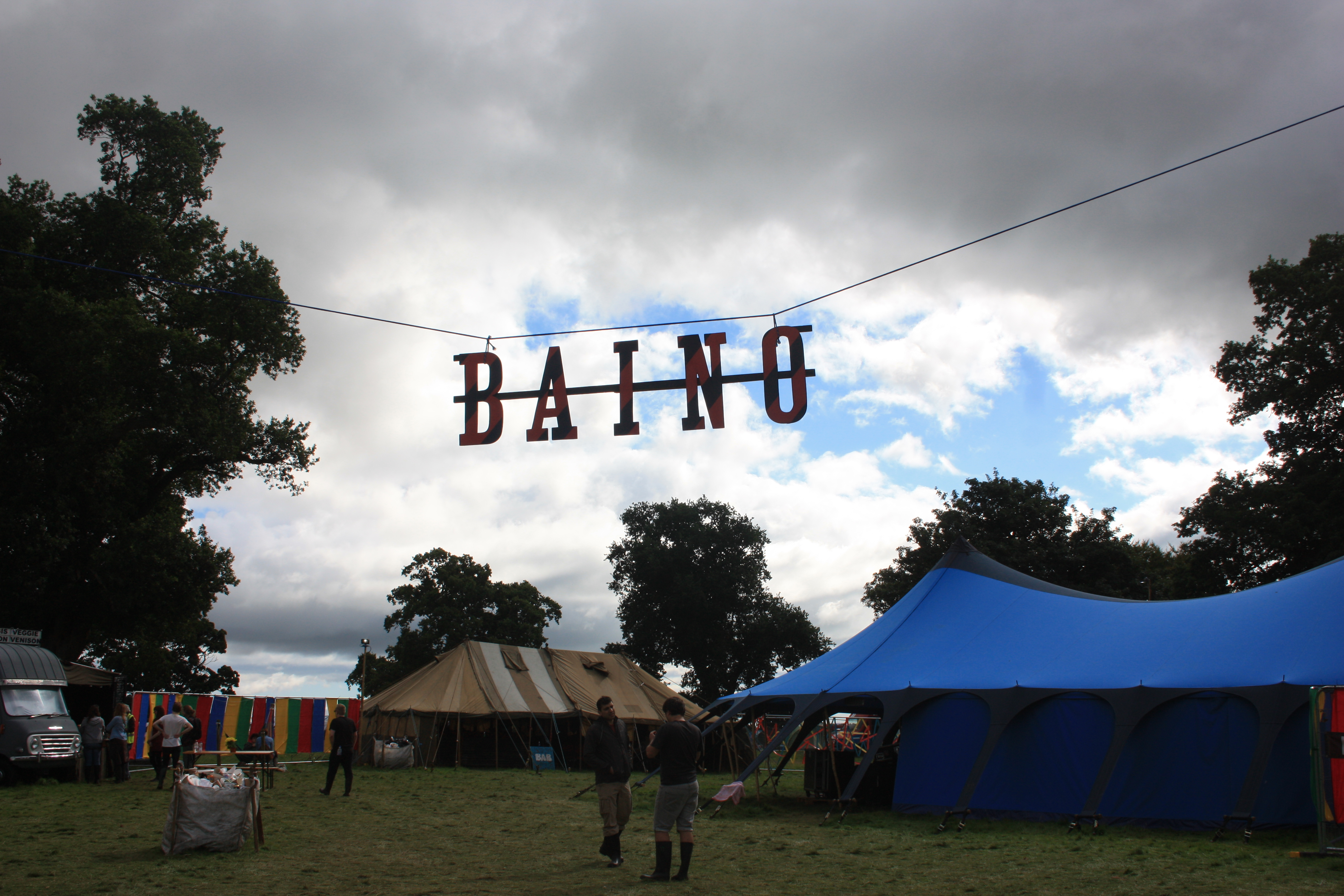 Biano Tent at Doune The Rabbit Hole Festival
