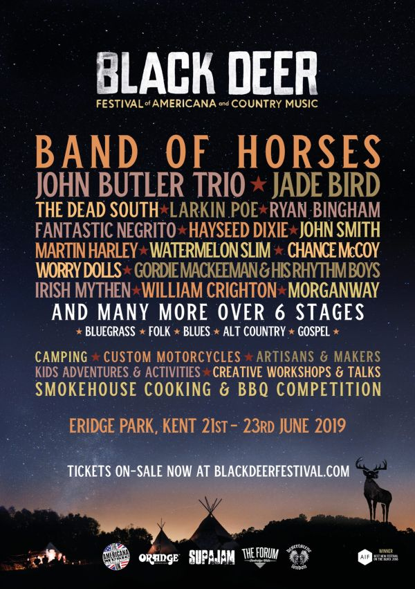 Black Deer Festival 2019 line up poster