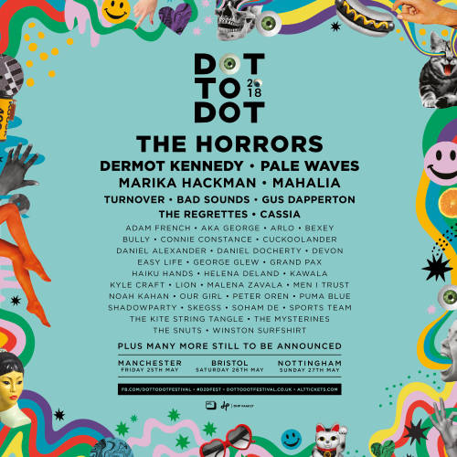 Dot to Dot Festival 2018 Line Up