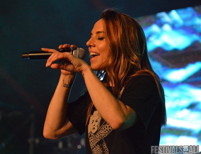 Melanie C at Lakefest 2018