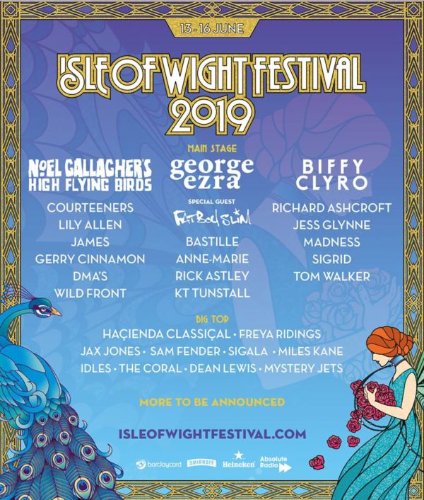 Isle Of Wight Festival 2019 Line Up Poster