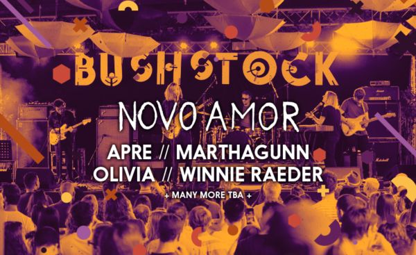 Bushstock 2019 Line Up Poster
