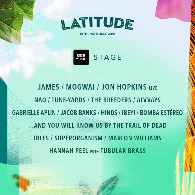 Latitude Festival 2018 - BBC Music Stage