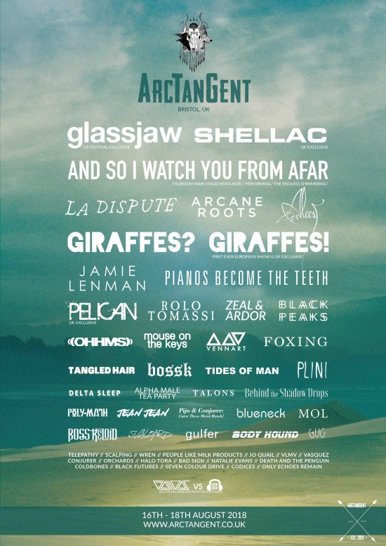 ArcTanGent 2018 Line Up