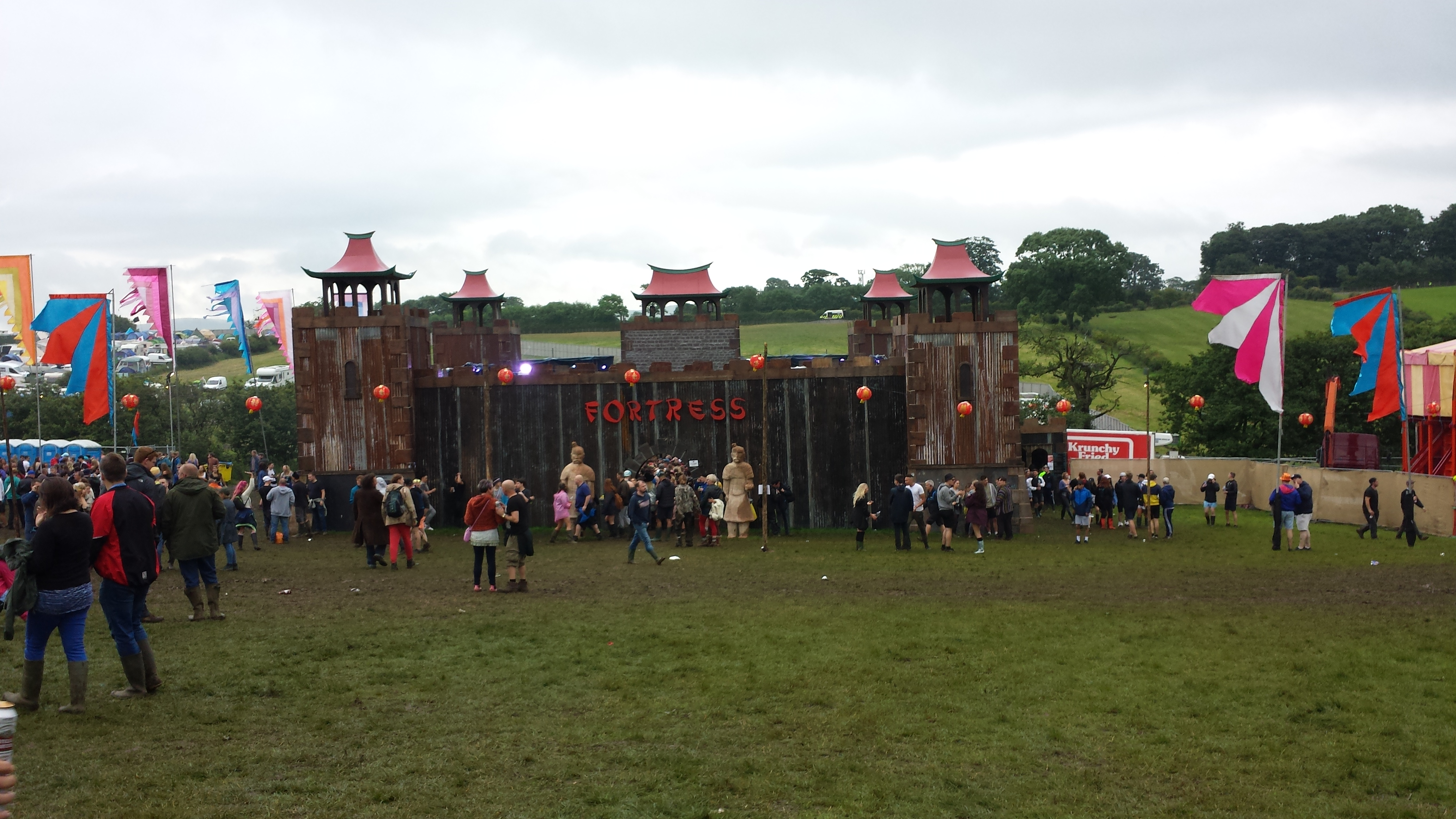 The Fort at Beat-Herder Festival