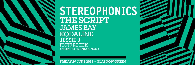 TRNSMT 2018 line up - Stereophonics day