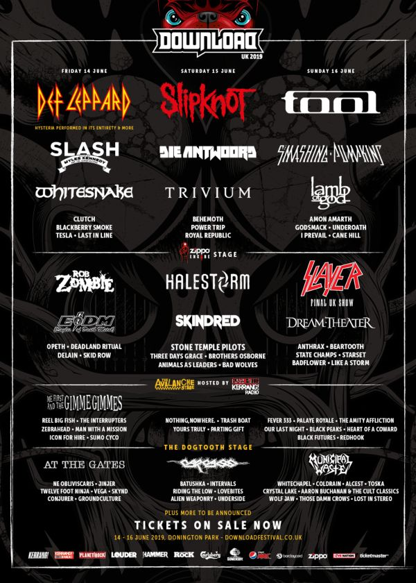 Download Festival 2019 Line Up