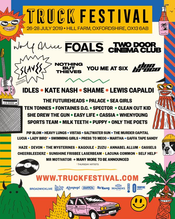 Truck Festival Line Up