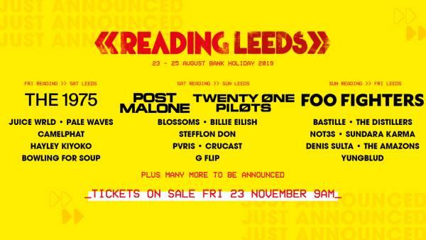 Reading & Leeds Line Up