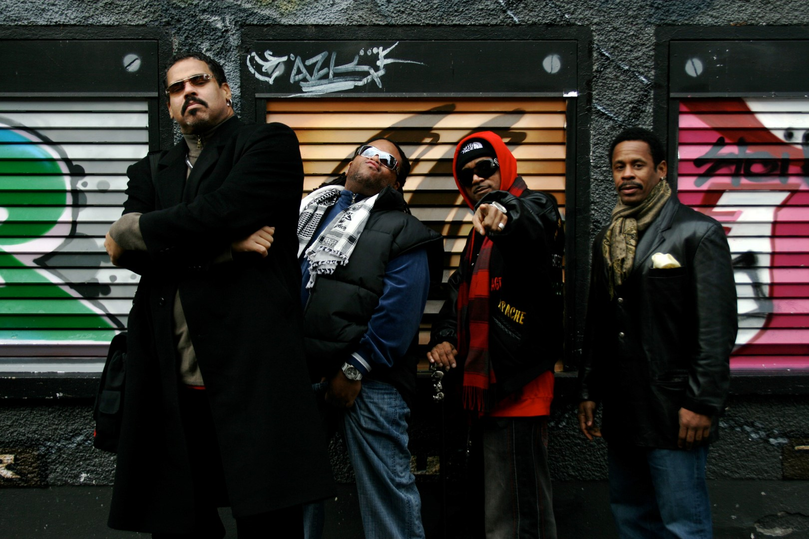 The Sugar Hill Gang heading for Nozstock Festival