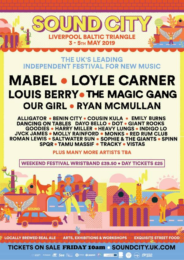 Sound City 2019 Line Up Poster