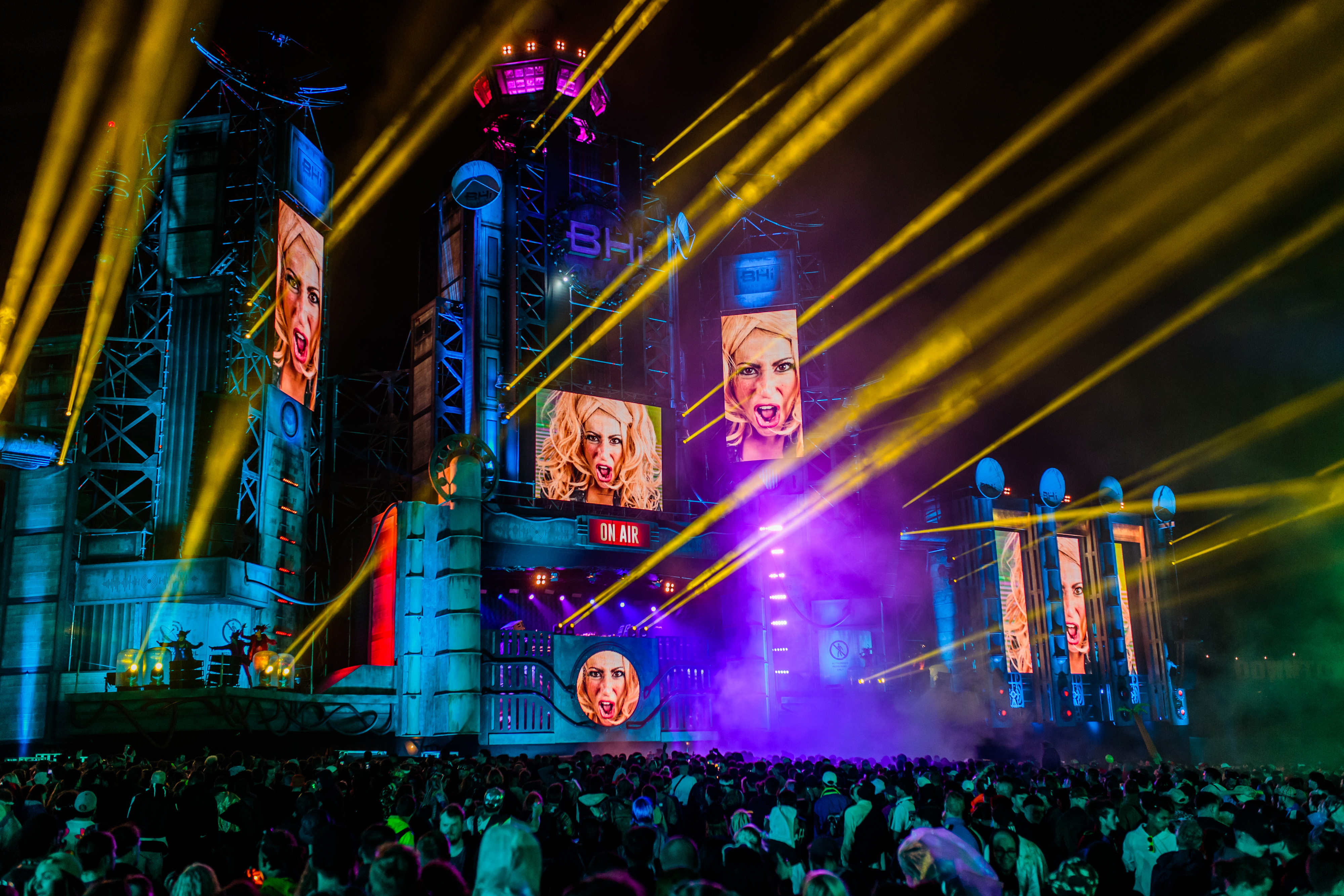New for BoomTown 2018 - The Metroplis stage