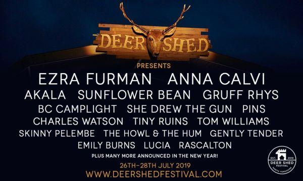 Deer Shed Line Up Poster