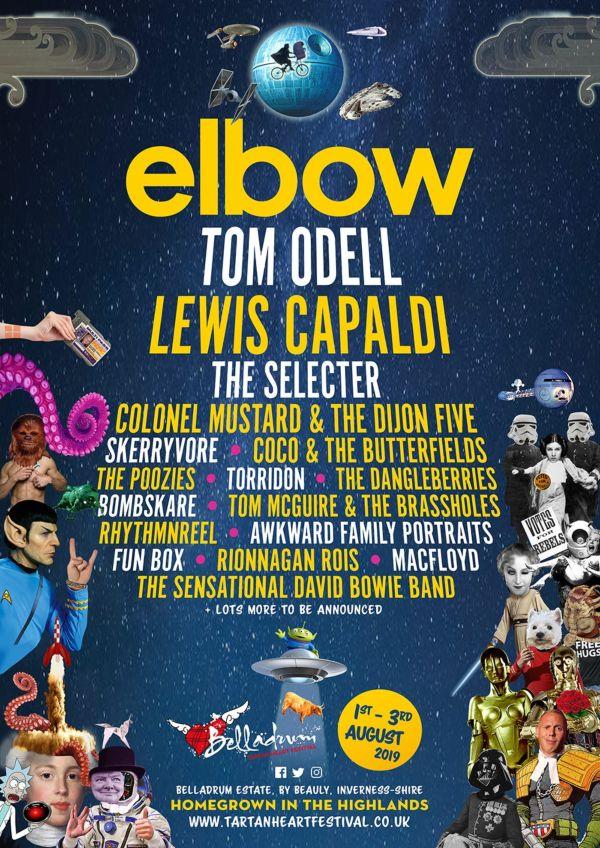 Belladrum 2019 Line Up with Elbow to headline opening night